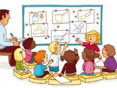 kinderen-les-geven